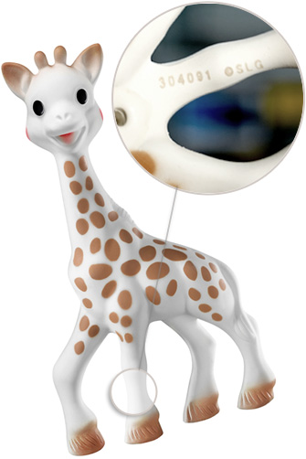 Sophie la girafe Batch number